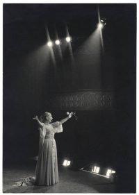 Ugo Mulas | Wanda Osiris, Milano 1960