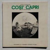 Luciano D'Alessandro   Così Capri