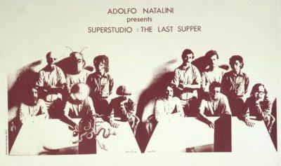 Adolfo Natalini presents Superstudio-The last supper