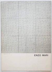 Enzo Mari - Galleria Blu Milano 1963