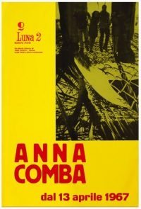 Anna Comba, Luna 2 Galleria d'arte, Torino, 13 aprile 1967
