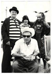 Franco Pinna Federico Fellini I clowns 1970