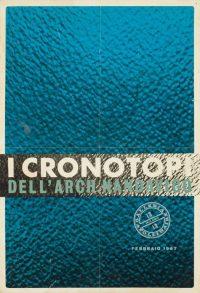 I cronotopi dell'Arch. Nanda Vigo Manifesto della mostra personale tenutasi presso la Galleria Apollinaire, Milano, febbraio 1967