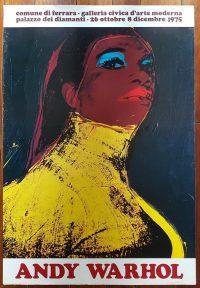 Andy Warhol Ladies and gentlemen Palazzo dei Diamanti Ferrara 1975