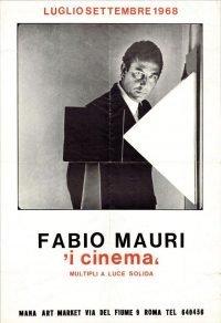 Fabio Mauri | I cinema. Multipli a luce solida - Mana Art Market 1968