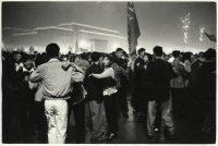 Caio Garrubba Pechino, 1 ottobre 1959, decimo anniversarsario della proclamazione della Repubblica Popolare Cinese. Ballo in Piazza Tienanmen 2 vintage print