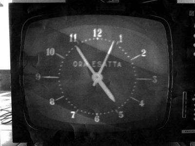 Mario Schifano Paesaggio TV 1970