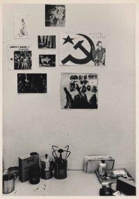 Paola Agosti Carcere di Messina 1978 cella di Maria Pia Vianale, militante dei Nuceli Armati Proletari.-001