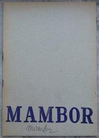 Renato Mambor stuen 1970 autografato