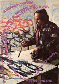 Schifano in pittura - Studio Ennesse, Milano, 1984